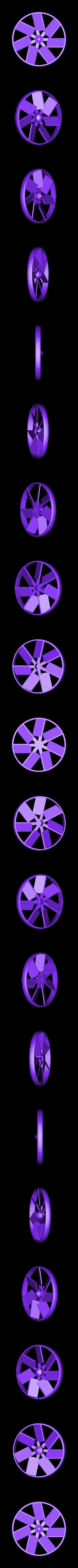 Grip_Fan_Fan.stl Télécharger fichier STL gratuit Cool Squeeze - Ventilateur de préhension • Plan imprimable en 3D, Zippityboomba