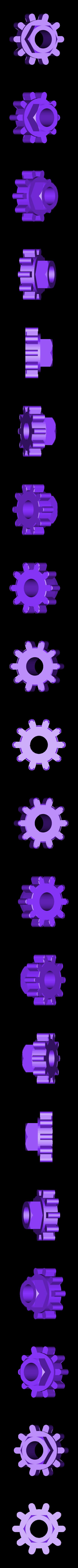 GripFan_Wheel_3A.stl Télécharger fichier STL gratuit Cool Squeeze - Ventilateur de préhension • Plan imprimable en 3D, Zippityboomba