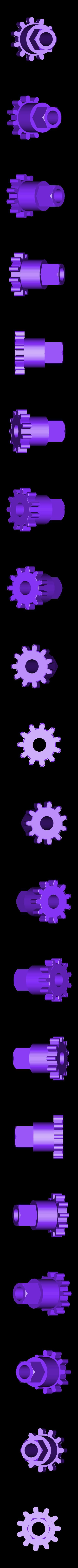 GripFan_Wheel_4A.stl Télécharger fichier STL gratuit Cool Squeeze - Ventilateur de préhension • Plan imprimable en 3D, Zippityboomba