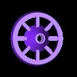 Spool_Extended_Wheel.stl Télécharger fichier STL gratuit Roue/cône supplémentaire pour le porte-bobine universel Creator Pro. • Design pour imprimante 3D, 3D-Designs