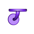 Version_5.stl Download free STL file Wall mount for Echo Dot • 3D printer object, 3D-Designs