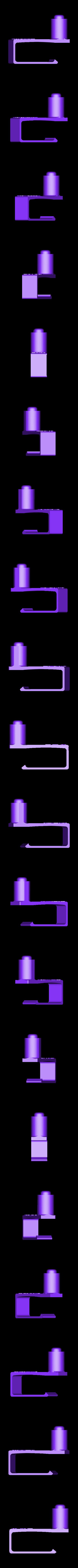 Clip_on_folding_chair_mount.stl Download free STL file Self-righting Gimballed drinks holder • 3D printer model, 3D-Designs