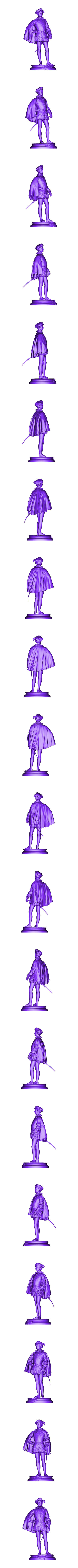 Statue_Delaunay_1M_Poly1.stl Download free STL file Delaunay Photosculpture • 3D printing template, ThreeDScans