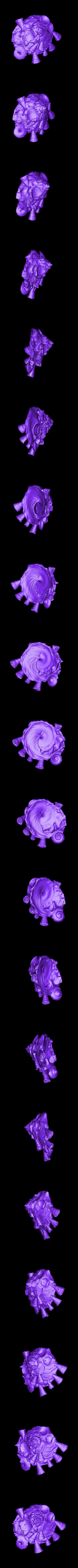 Xenophora.obj Download free OBJ file Xenophora • 3D printable design, ThreeDScans