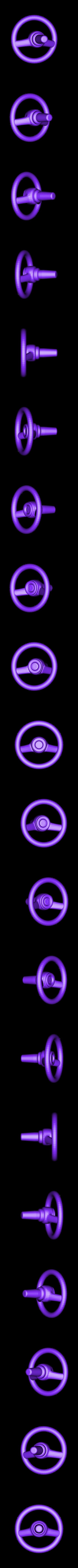 Pony_Car_Steering.obj Télécharger fichier OBJ gratuit Voiture jouet poney • Modèle pour impression 3D, Slava_Z