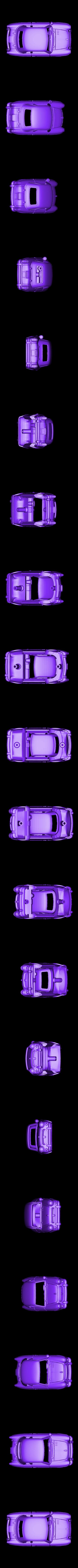 Pony_Car_Body.obj Télécharger fichier OBJ gratuit Voiture jouet poney • Modèle pour impression 3D, Slava_Z