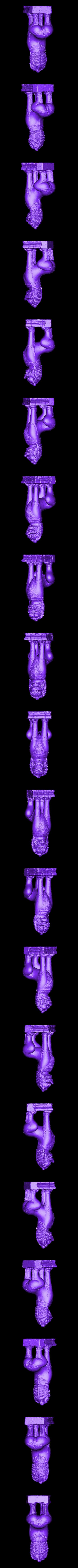 Bayon Lion.OBJ Télécharger fichier OBJ gratuit Lion • Modèle imprimable en 3D, ThreeDScans