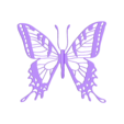 butterfly2_black.stl Download free STL file Butterfly • 3D printer model, tomast