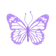 butterfly1_black.stl Download free STL file Butterfly • 3D printer model, tomast