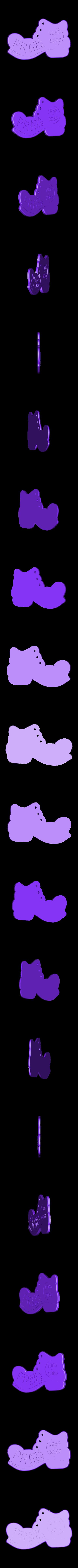 PPP1966-2066.stl Télécharger fichier STL gratuit Botička / Chaussure (récompense du voyage de randonnée tchèque Praha - Prčice) • Design imprimable en 3D, tomast