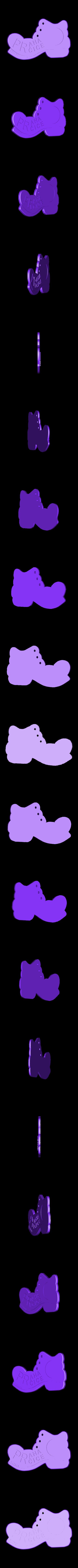PPP____.stl Télécharger fichier STL gratuit Botička / Chaussure (récompense du voyage de randonnée tchèque Praha - Prčice) • Design imprimable en 3D, tomast