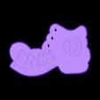 PPPwinter.stl Télécharger fichier STL gratuit Botička / Chaussure (récompense du voyage de randonnée tchèque Praha - Prčice) • Design imprimable en 3D, tomast