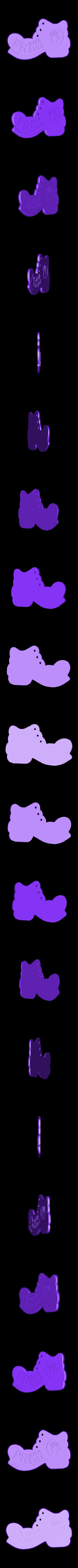 PPPhand.stl Télécharger fichier STL gratuit Botička / Chaussure (récompense du voyage de randonnée tchèque Praha - Prčice) • Design imprimable en 3D, tomast