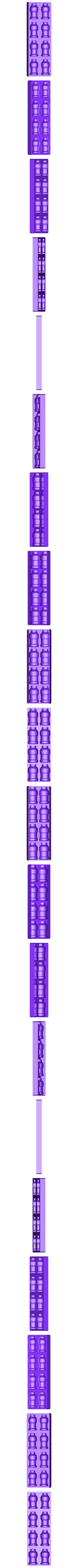 Bottle Ice Tray.stl Download free STL file Bottle Ice tray • 3D printable model, Kraai147