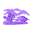 1140. Buffalo Hunter.stl Download free STL file Buffalo • 3D printable model, stl3dmodel