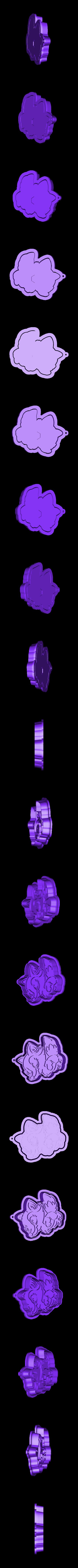 7.stl Download STL file Lady fox cookie cutter • 3D print model, 3dfactory
