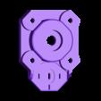 Pan_motor_base.stl Download STL file Panohead • 3D print model, Cavada