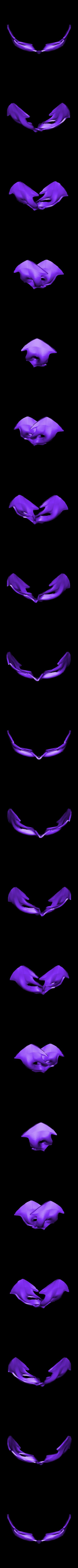 mask nightwing rebirth.stl Download STL file MASK NIGHTWING REBIRTH 1.0 • Template to 3D print, ArtViche