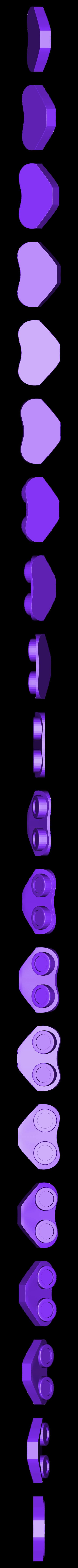 RearEngine_Red.STL Télécharger fichier STL gratuit Vaisseau spatial (multi-couleur) • Design à imprimer en 3D, MosaicManufacturing