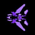 Trim_Purple.STL Télécharger fichier STL gratuit Vaisseau spatial (multi-couleur) • Design à imprimer en 3D, MosaicManufacturing