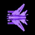 MainBody_Blue.STL Télécharger fichier STL gratuit Vaisseau spatial (multi-couleur) • Design à imprimer en 3D, MosaicManufacturing