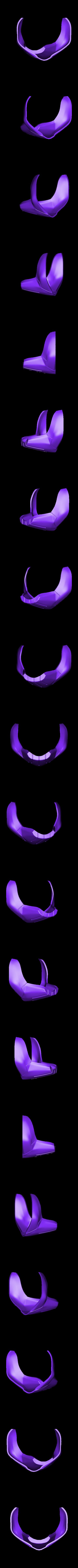 Taskmaster_Mask_Udon_w_Strap_Holes_Part_2.stl Télécharger fichier STL gratuit Masque Udon Taskmaster • Modèle pour imprimante 3D, VillainousPropShop