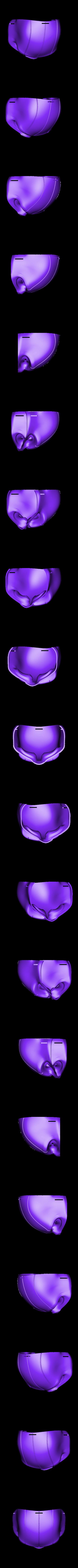 Taskmaster_Mask_Udon_w_Strap_Holes_Part_1.stl Télécharger fichier STL gratuit Masque Udon Taskmaster • Modèle pour imprimante 3D, VillainousPropShop