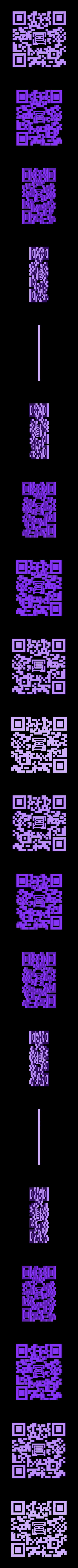 black.stl Download STL file MMU QR code • 3D printing object, DoubekDesign