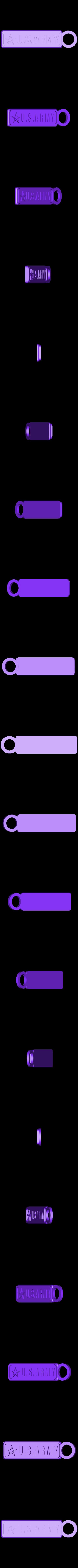 Porte Clef  us long.STL Download STL file Keychain set - Keychain lot • Model to 3D print, jmmprog