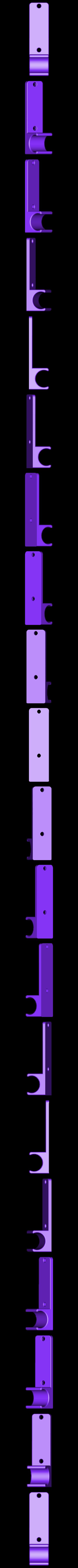 Stab Clip Single.stl Download STL file Archery Stabilizer bar Clip  • 3D printer object, daztoni
