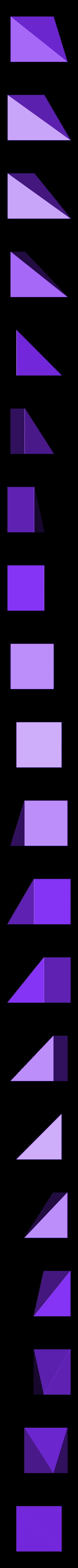 LiuHuiThird_VerA.stl Download free STL file Thirds Cube Dissection, Many Styles, Liu Hui • 3D printer template, LGBU