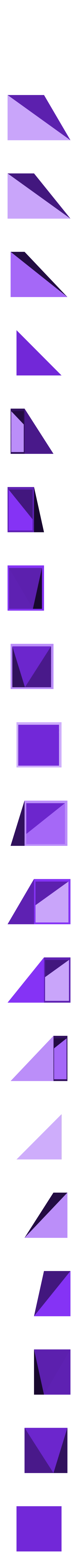 LiuHuiThird_VerB.stl Download free STL file Thirds Cube Dissection, Many Styles, Liu Hui • 3D printer template, LGBU