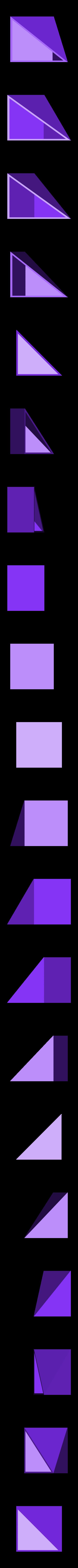 LiuHuiThird_VerC.stl Download free STL file Thirds Cube Dissection, Many Styles, Liu Hui • 3D printer template, LGBU