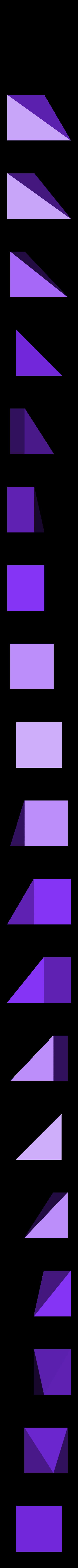 LiuHuiThird_VerD.stl Download free STL file Thirds Cube Dissection, Many Styles, Liu Hui • 3D printer template, LGBU