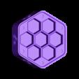 dice-box-middle.stl Télécharger fichier STL gratuit Hexagonal Dice box middel Triskel Triskel • Modèle pour impression 3D, Arzmael