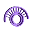 Fan-Frame01ws.stl Download STL file Thrust Reverser with Turbofan Engine Nacelle • 3D printable model, konchan77