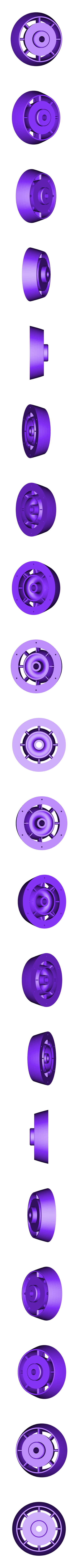 LPC-Inlet01ws.stl Download STL file Thrust Reverser with Turbofan Engine Nacelle • 3D printable model, konchan77