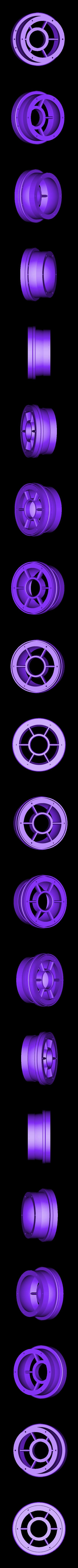 LPT-Exh-Case01ws.stl Download STL file Thrust Reverser with Turbofan Engine Nacelle • 3D printable model, konchan77