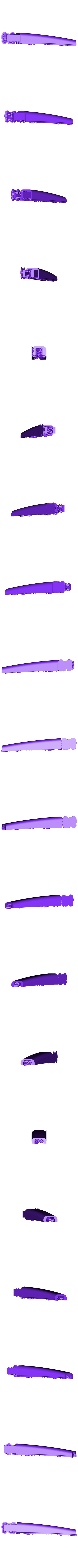 Pylon-Frt-Fair01ws.stl Download STL file Thrust Reverser with Turbofan Engine Nacelle • 3D printable model, konchan77