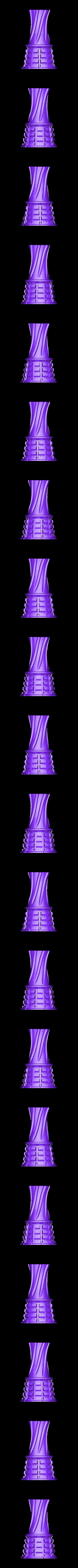 Red Vaze_SW_Ver.STL Download STL file Decorative Urban Vaze • Model to 3D print, Zuk