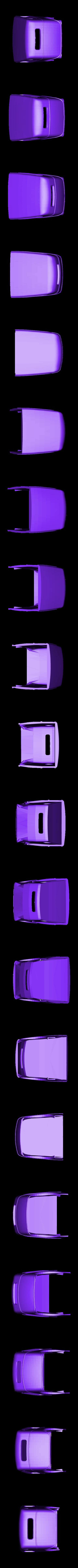 hotrod 2.stl Download STL file Fury road hotrod bodyshell 1/10 • 3D printing design, RCGANG93