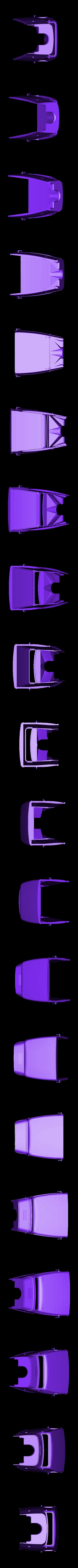 hotrod 1.stl Download STL file Fury road hotrod bodyshell 1/10 • 3D printing design, RCGANG93