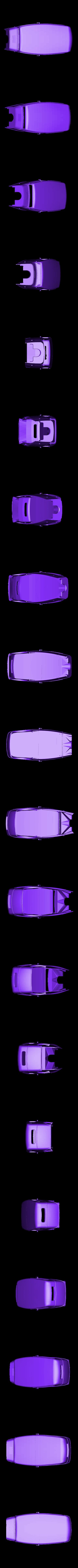 hotrod complet.stl Download STL file Fury road hotrod bodyshell 1/10 • 3D printing design, RCGANG93