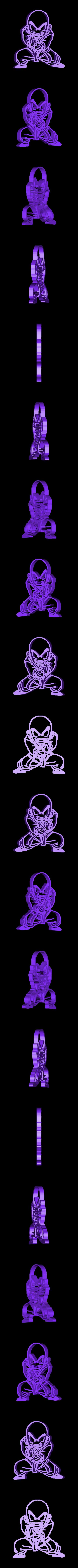 Powerful Krunk.stl Télécharger fichier STL gratuit Dragon Ball Krilin,Goku x3 cutters • Design imprimable en 3D, bboy_born22