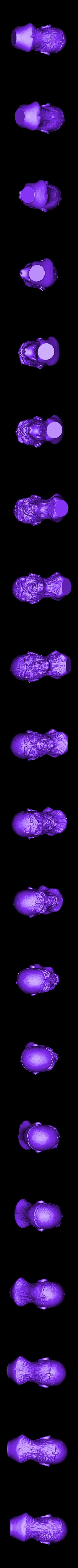 CARETA 2 IRON.stl Download STL file EDDIE IRON MAIDEN • 3D printable template, GUSTAVO