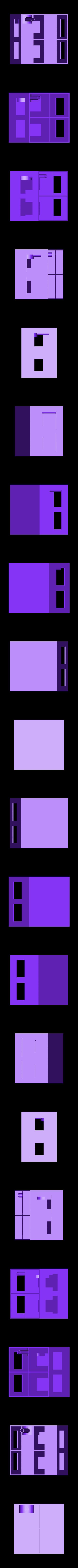 House_GroundFloor.stl Télécharger fichier STL gratuit Maison • Design à imprimer en 3D, Lisu_001