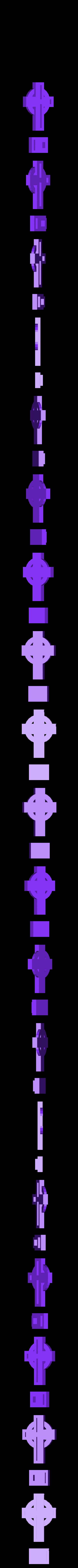 H0 Scale Cemetery Cross_all.stl Download free STL file H0/HO Scale Cemetery Cross • Template to 3D print, itisNutella