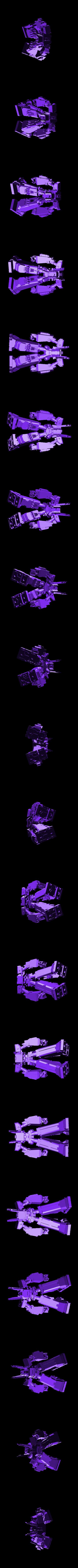 megas.stl Download free STL file Megas XLR • 3D printer template, Brandonzhun