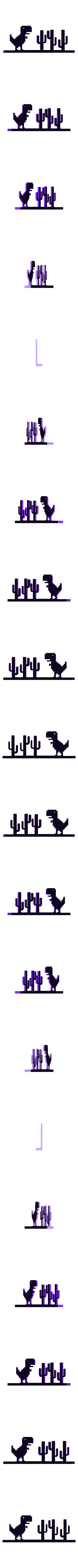 offline_dinosaur.stl Download free STL file Chrome Offline Dinosaur • Template to 3D print, Brandonzhun
