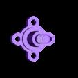 shaft4.stl Download free STL file Motor Spinner (608 Bearing) • 3D print object, Gophy